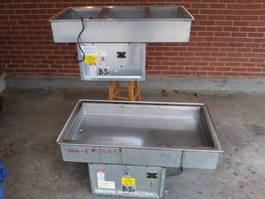 Atlas metal hot / cold 3 pan drop in unit for Sale in Jackson, MS