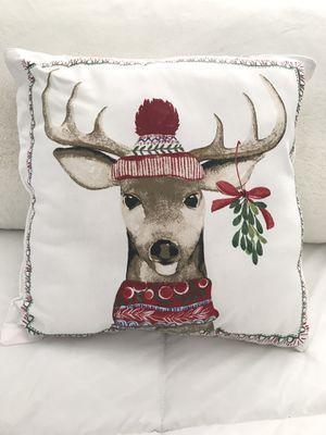 Reindeer decorative pillow NEW for Sale in Clovis, CA
