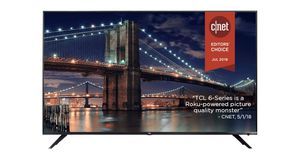 """TCL 55"""" CLASS 6-SERIES 4K UHD DOLBY VISION HDR ROKU SMART TV - 55R613 for Sale in Eureka, MO"""