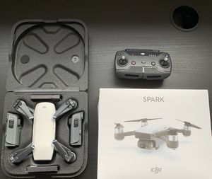 DJI SPARK WITH EXTRAS AND 2 CASES for Sale in HOFFMAN EST, IL