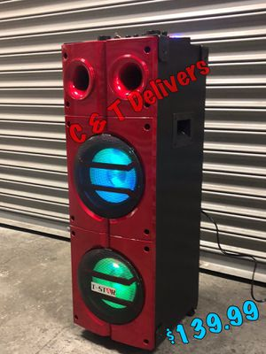 SUPER LOUD W EXTRA BASS • Wireless 🎤 • Party Speaker • 9,000 Watts** of Fun 💥 Delivery** 👍🏽 for Sale in Compton, CA