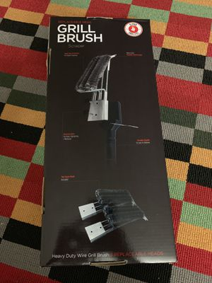 Brand NEW Grill Brush & Scraper with 3 Replaceable Heads   Best BBQ h for Sale in Columbus, OH