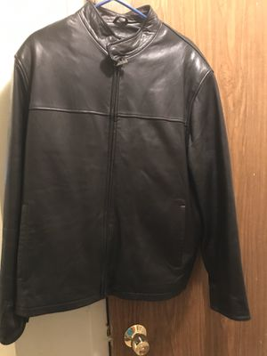 Motorcycle riding leather jacket for Sale in New York, NY