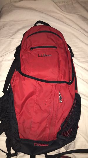 Red and black backpack for Sale in Wethersfield, CT