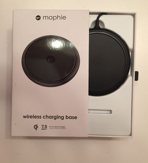 Mophie wireless charging base for iPhone 8 models and X. for Sale in Wagener, SC