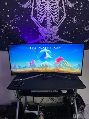 AOC 34inch ULTRAWIDE / Curved Gaming Monitor 75hz, 1ms for Sale in Los Angeles, CA