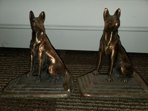 Dog bookends for Sale in Minooka, IL