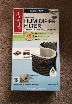 Sunbeam Humidifier Filter for Sale in Henrico, VA