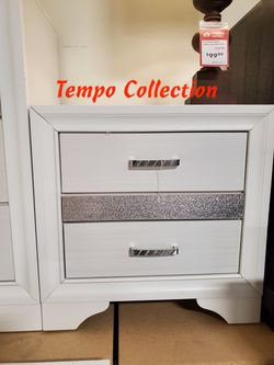 NEW, Miranda Drawer Nightstand, White, SKU# 205112 for Sale in Midway City,  CA