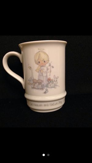 "Precious moments cup plays song ""joy to the world"". for Sale in San Jose, CA"