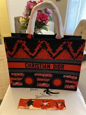 Large Dior Tote Bag for Sale in Leesville, LA