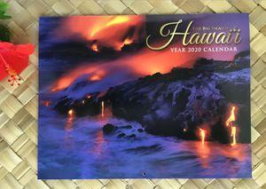HAWAII BIG ISLAND 2020 Hawaiian Wall Calendar Tropical Beach Ocean Lava Kona HI for Sale in Kailua-Kona, HI