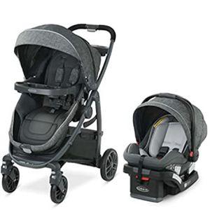 Graco Modes Bassinet Travel System | Includes Modes Bassinet Stroller and SnugRide SnugLock 35 Infant Car Seat, Wynton for Sale in Las Vegas, NV