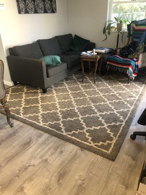 Brown area rug for Sale in Gresham, OR