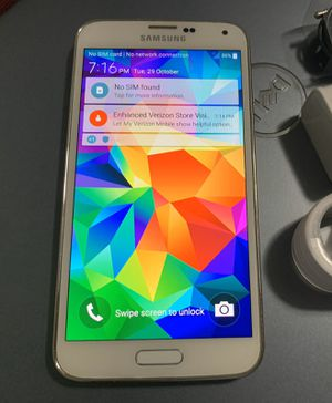 Samsung Galaxy S5, Factory Unlocked.. Excellent Condition. for Sale in Springfield, VA