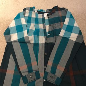 Authentic Burberry Button Down Girls Shirt for Sale in Englewood, NJ