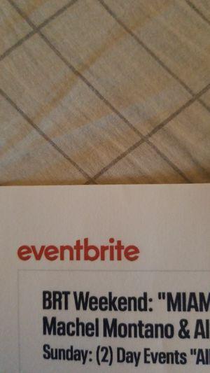 Brt tickets for Sale in Palm Beach, FL