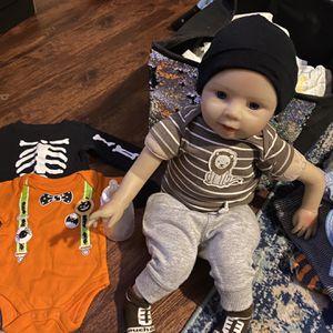 Reborn Baby. (newborn-0-3months Size) for Sale in Trenton, NJ