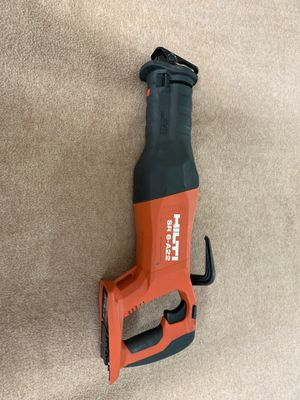 Hilti SR 6-A 22-Volt Lithium-Ion Cordless Reciprocating Saw (Tool-Only) with Brushless Motor for Sale in Miami, FL