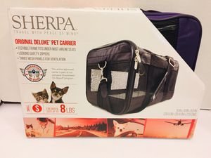 New! Sherpa Original Deluxe Pet Carrier Small For Dog and Cats Up To 8 .lbs for Sale in Las Vegas, NV