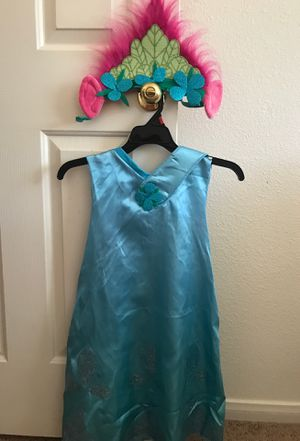Trolls dress and head band for Sale in Henderson, NV