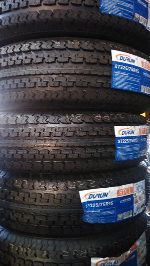 St 2257515 Trailer tires 10 Ply for Sale in Phoenix, AZ