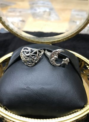 2 for 1 Price Sterling Silver Rings for Sale in Sumner, WA