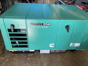 CUMMINS ONAN RV QG 4000 WATT GENERATOR for Sale in Galt, CA