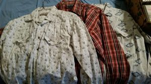 3 western shirts large 5.00 each or 3 for 10.00 for Sale in Overgaard, AZ