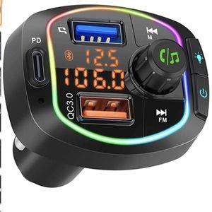 Bluetooth FM Transmitter for Car BT 5.0 for Sale in Gilbert, AZ