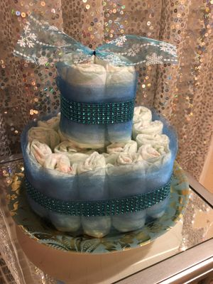 Infant Diapers Cake $30 for Sale in Tracy, CA