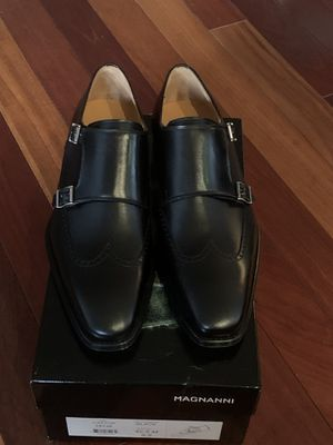 Men Magnanni leather shoes, made in Italy, sizes 9, 9.5 and 12 for Sale in Beverly Hills, CA