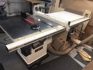 "Jet 10"" cabinet saw model JTAS-10 for Sale in Scotch Plains, NJ"