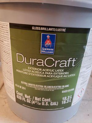Paint Duracraft exterior acrylic latex - gloss/brillante for Sale in San Jose, CA