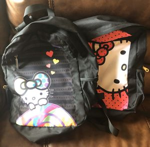 2 cute Hello Kitty backpacks for Sale in Acworth, GA