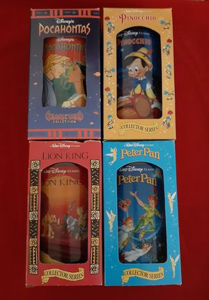 (4) 1994 BK Disney Collectable Cups for Sale in Hazelwood, MO
