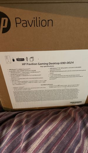 Hp pavillion gaming desktop 690-0024 for Sale in Grand Prairie, TX