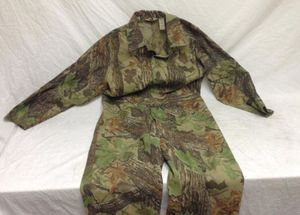 Mens Large Woodland Camouflage Camo Coveralls for Sale in Salt Lake City, UT