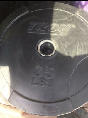 35lb Bumper Plate (Single) for Sale in Durham, NC