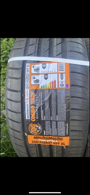 245/40r20 all weather Cosmo tire for Sale in McKeesport, PA