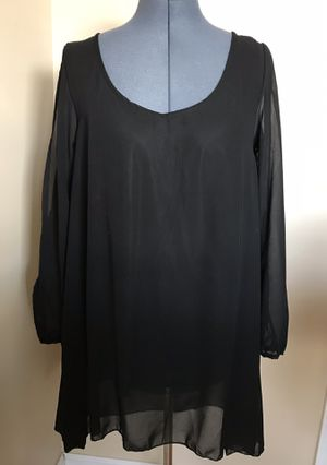 New flowy dress/long tunic with cold shoulder sleeves —size XL— for Sale in Smyrna, TN