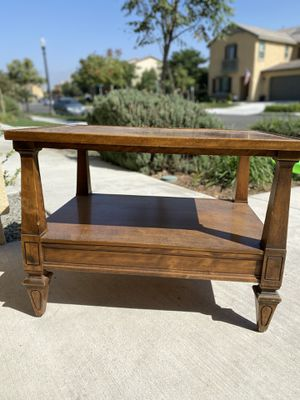 Antique Side Table/TV Stand for Sale in Corona, CA