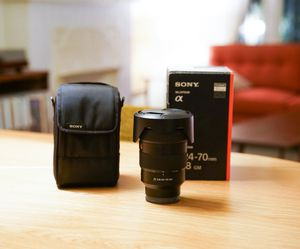 Sony 24-70mm GM G Master FE f/2.8 24-70 for Sale in Los Angeles, CA