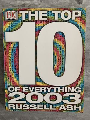 The Top 10 of Everything 2003 for Sale in Selma, CA