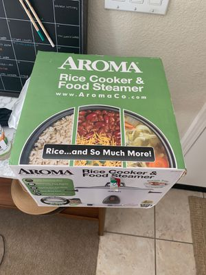 Aroma Rice Cooker & Food Steamer for Sale in Pittsburg, CA