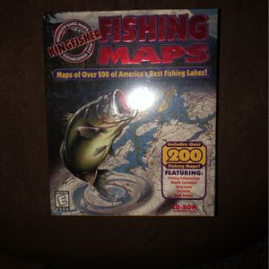 Fishing Maps for Sale in Hanover, PA