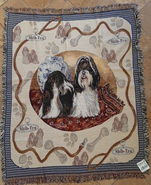 Shih Tzu Tapestry Throw for Sale in Norco, CA
