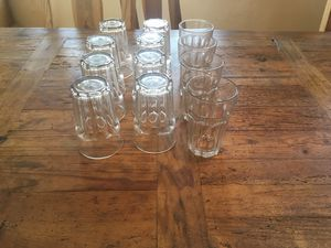 Water glasses (14oz). 12 for $2 for Sale in San Rafael, CA
