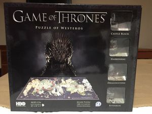 Games of Thrones puzzle with toys for Sale in Miami Beach, FL