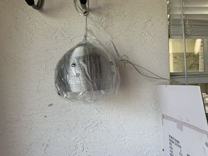 Silver hanging light for Sale in Vero Beach, FL